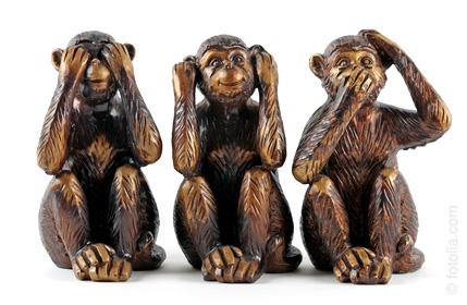 Die drei Affen 01